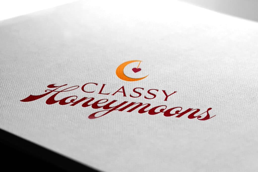 Classy Honeymoons Logo Design