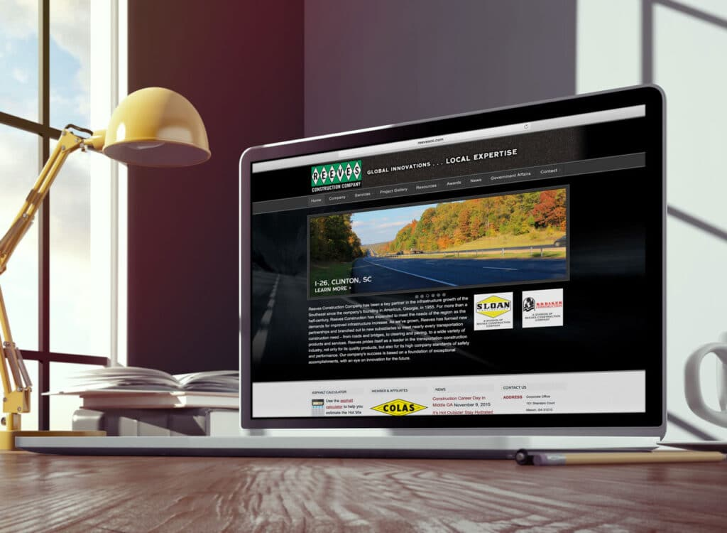reeves-construction-website